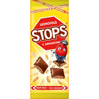 «Stops» with peanuts