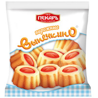 Biscuit cake «Vypechkino» with jam